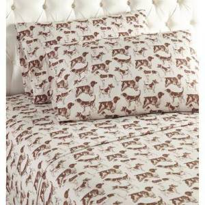 Shavel Home Products Micro Flannel Print Sheet Set by Shavel Home Products in Flannel (Size TWIN)