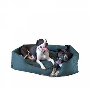 Armarkat Bolstered Dog Bed, Anti-Slip Pet Bed, Laurel Green, X-Large by Armarkat in Green