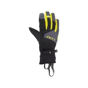 C.A.M.P. Men's Accessories G Comp Warm Skimo Gloves - Unisex Black / Lime 2XL Model: 2826XXL