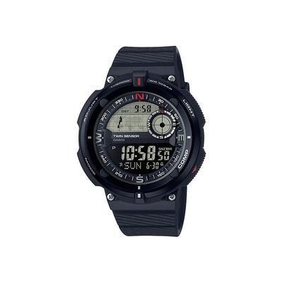 Casio Outdoor Camp & Hike 2Sensor Sport Watch w/100M Water Resistant Black Model: SGW600H-1B