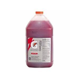 "Quaker Sales and Distribution Inc """"""Gatorade Fruit Punch Liquid Concentrates, 1 Gallon Bottle, 4 Bottles (Qoc 33977)"""""""