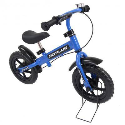 """Costway """"Costway 12"""""""" Three Colors Kids Bike Bicycle with Brakes and Bell-Blue"""""""