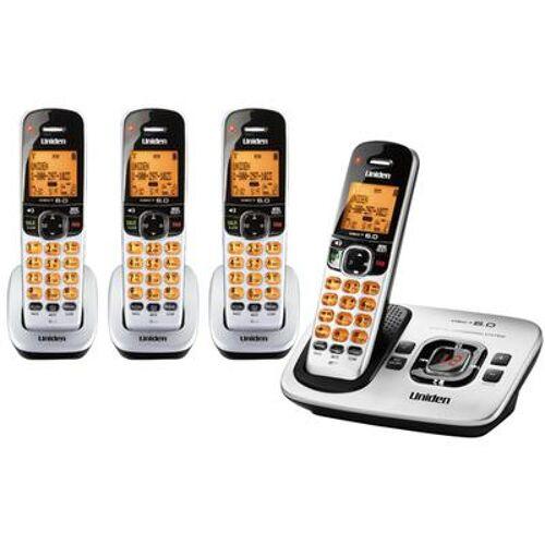 Uniden D1780 4 Handset Cordless ...