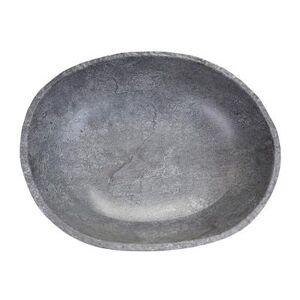 Elite Global Solutions M14123OV-CO 164 oz Melamine Serving Bowl, Coal