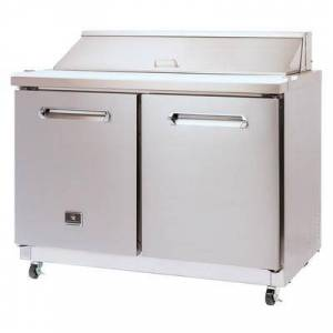 "Kelvinator Commercial ""Kelvinator Commercial KCHST48.12 48 1/4"""" Sandwich/Salad Prep Table w/ Refrigerated Base, 115v"""