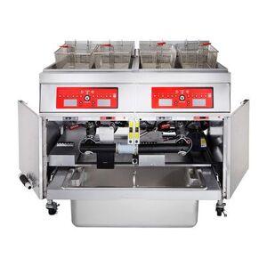 Vulcan 3ER85CF Electric Fryer - (3) 85 lb Vats, Floor Model, 208v/3ph