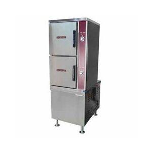 Crown Steam ECX-10-36 (10) Pan Convection Steamer - Cabinet, 208v/3ph