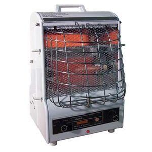 TPI 198TMC Portable Radiant/Fan Forced Heater w/ 3 Settings - White, 120v