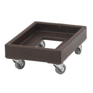 Cambro CD1420131 Camdolly? for Milk Crates w/ 350 lb Capacity, Dark Brown