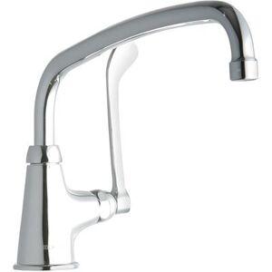"""Elkay """"Elkay LK535AT12T6 Deck Mount Pantry Faucet w/ 12"""""""" Swing Spout & 6"""""""" Wrist Blade Handles"""""""
