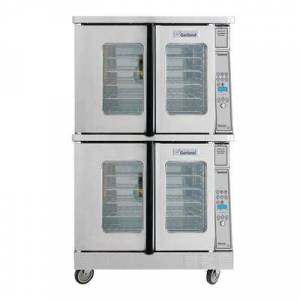 Garland MCO-GS-20 Master Double Full Size Natural Gas Convection Oven - 120,000 BTU