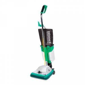"""Bissell """"Bissell BG101DC 12"""""""" ProCup Commercial Upright Vacuum w/ Dirt Cup - 870 Watts, Chrome"""""""