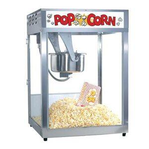 Gold Medal 2554 Front Counter Popcorn Machine, 16/18 oz EZ Kleen Kettle, 120v