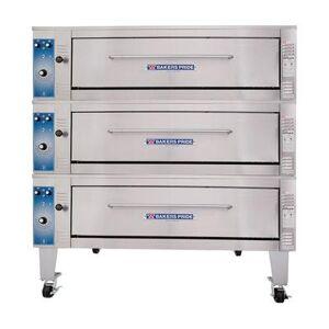 Bakers Pride ER-3-12-3836 Triple Deck Bake/Roast Oven, 208v/3ph