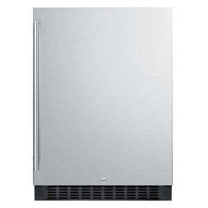 "Summit ""Summit FF64BSS 23 5/8"""" W Undercounter Refrigerator w/ (1) Section & (1) Door, 115v"""