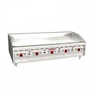 """Magikitch'n """"Magikitch'n MKG-60-ST 60"""""""" Gas Griddle w/ Thermostatic Controls - 1"""""""" Steel Plate, Liquid Propane"""""""