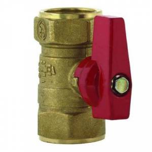 """T&S """"T&S AG-7F 1 1/4"""""""" Gas Appliance Connector w/ Gas Ball Valve"""""""
