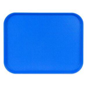 """Cambro """"Cambro 1418FF168 Plastic Fast Food Tray - 17 3/4""""""""L x 13 4/5""""""""W, Blue"""""""
