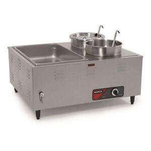 """Nemco """"Nemco 6060A 27 1/2"""""""" Countertop Hot Food Table w/ (1) Well, 120v"""""""