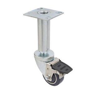 "Focus ""Focus FPCF353 Fryer Caster Set w/ Brake, 200 lb Per Wheel, 3"""" Diameter"""