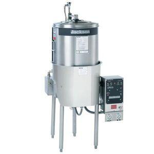 Jackson 10APRB High Temp Round Dishwasher w/ Built-In Booster, 208v/1ph
