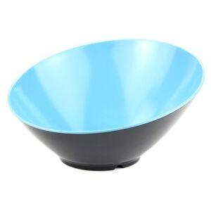 GET B-790-BL/BK 1 9/10 qt Melamine Bowl, Blue/Black