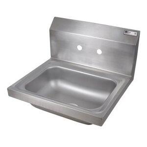 "John Boos ""John Boos PBHS-W-1410 Wall Mount Commercial Hand Sink w/ 14""""L x 10""""W x 5""""D Bowl"""