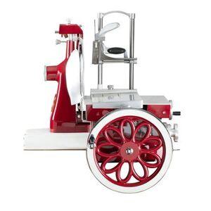 """Axis AX-VOL12 Manual Flywheel Slicer w/ 12"""""""" Knife - Steel, Red"""""""