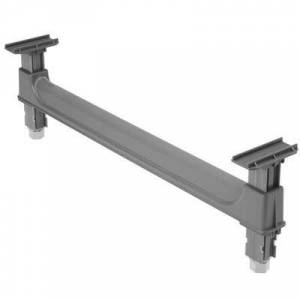 """Cambro """"Cambro CBDS21H10580 Camshelving? Basics Dunnage Support - 21""""""""W x 10 3/4""""""""H, Brushed Graphite"""""""