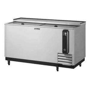 """Turbo Air """"Turbo Air TBC-65SD-N6 65"""""""" Forced Air Bottle Cooler - Holds (528) 12 oz Bottles, Stainless Interior, 115v"""""""