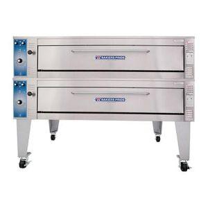 Bakers Pride EB-2-8-5736 Multi Purpose Double Deck Oven, 208v/3ph