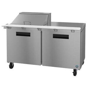 "Hoshizaki ""Hoshizaki SR60A-12M SteelHeart 60"""" Sandwich/Salad Prep Table w/ Refrigerated Base, 115v"""