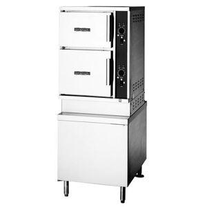 Crown Steam ECX-10-24 (10) Pan Convection Steamer - Cabinet, 208v/3ph