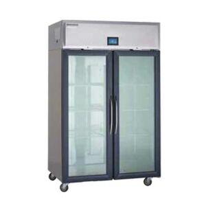"Delfield ""Delfield GARPT1P-G 27 2/5"""" One Section Pass Thru Refrigerator, (1) Right Hinge Glass Doors, 115v"""