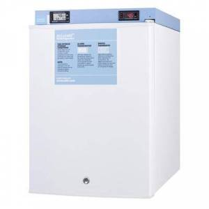 """Accucold """"Accucold FF28LWHMED2 18 1/2"""""""" Countertop Pharmaceutical Refrigerator - Locking, White, 115v"""""""