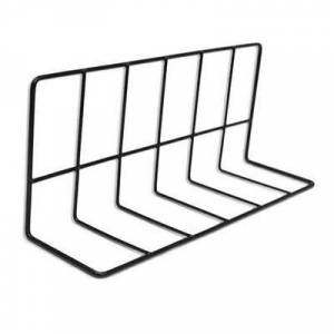 """Elite Global Solutions """"Elite Global Solutions W4614 Wire Shelving Divider - 14""""""""L x 4""""""""W x 6""""""""H, Black"""""""