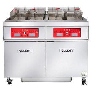 Vulcan 4ER50CF Electric Fryer - (4) 50 lb Vats, Floor Model, 208v/3ph