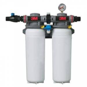 3M Cuno ICE260-S Filter System w/ Shut Off Valve, 1/5 Microns