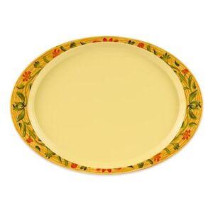 """GET """"GET OP-145-VN Melamine Serving Platter - 14 3/4"""""""" x 10 1/2"""""""", Yellow"""""""