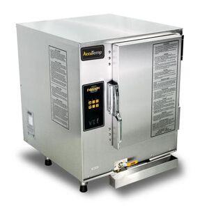 Accutemp E64803E140 (6) Pan Convection Steamer - Countertop, Holding Capability, 480v/3ph