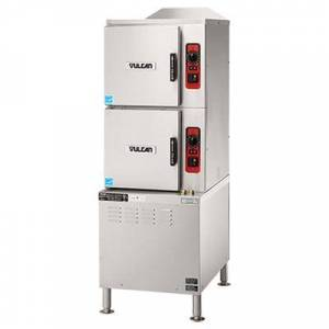 Vulcan C24ET10-LWE (10) Pan Convection Steamer - Cabinet, 208v/3ph