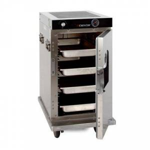 Cres Cor H-339-SS-128C 1/2 Height Insulated Mobile Heated Cabinet w/ (8) Pan Capacity, 120v