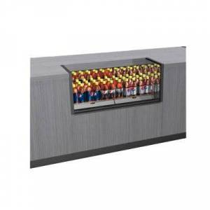 """Structural Concepts """"Structural Concepts CO33R-CH 36 1/4"""""""" Counter Height Open Air Cooler w/ (1) Level, 110v"""""""