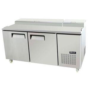 "Migali ""Migali C-PP67-HC 67"""" Pizza Prep Table w/ Refrigerated Base, 115v"""