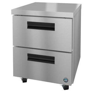 "Hoshizaki ""Hoshizaki UR27A-D2 SteelHeart 27"""" W Undercounter Refrigerator w/ (1) Section & (2) Drawers, 115v"""