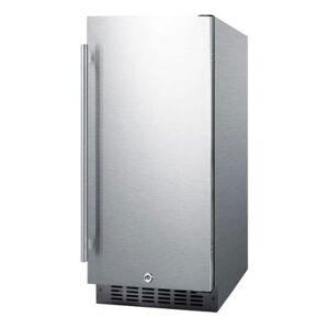 "Summit ""Summit FF1532BCSS 14 3/4"""" W Undercounter Refrigerator w/ (1) Section & (1) Door, 115v"""