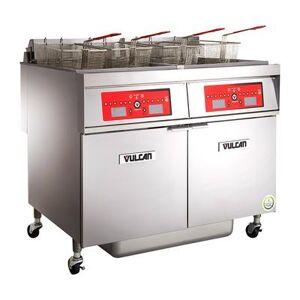 Vulcan 2ER85CF Electric Fryer - (2) 85 lb Vats, Floor Model, 208v/3ph