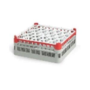 Vollrath 52848 6 Signature Lemon Drop? Glass Rack w/ (30) Compartments - Gray