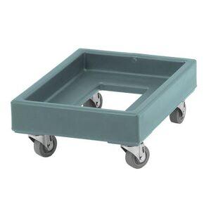 Cambro CD1420401 Camdolly? for Milk Crates w/ 350 lb Capacity, Slate Blue