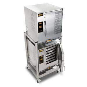 Accutemp E64803E140DBL (12) Pan Covection Steamer - Stand, Holding Capability, 440v/3ph
